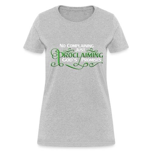 Green Proclaim - Women's T-Shirt