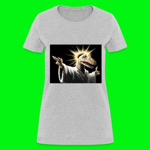Raptor Jesus - Women's T-Shirt