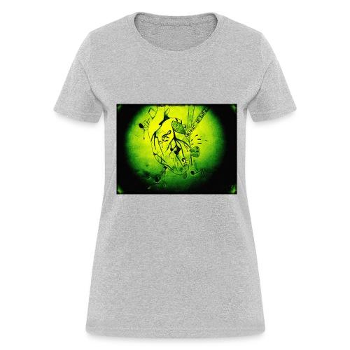 Music is Life-green - Women's T-Shirt