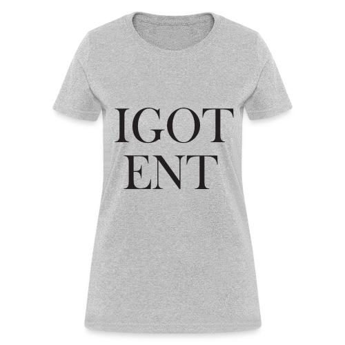 IGOTBaskervillFont - Women's T-Shirt