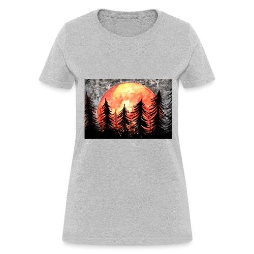 sunset - Women's T-Shirt