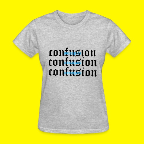 upside down confusion - Women's T-Shirt
