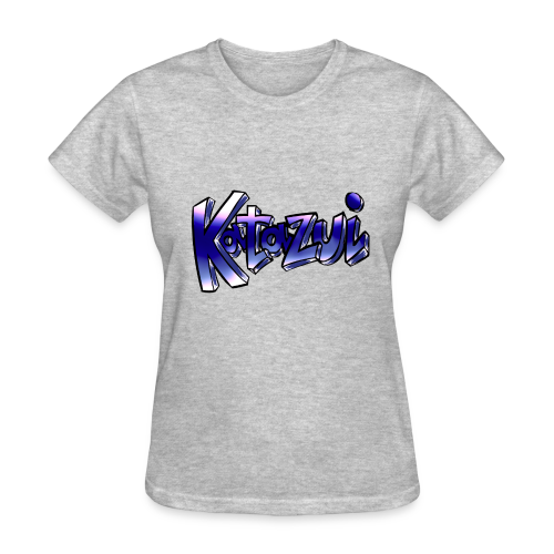 Katazui Header Logo - Women's T-Shirt