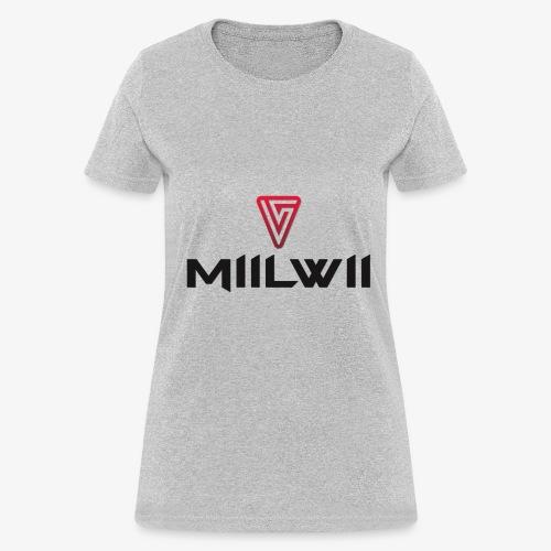 Miilwii logo black - Women's T-Shirt
