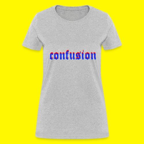 3D confusion - Women's T-Shirt