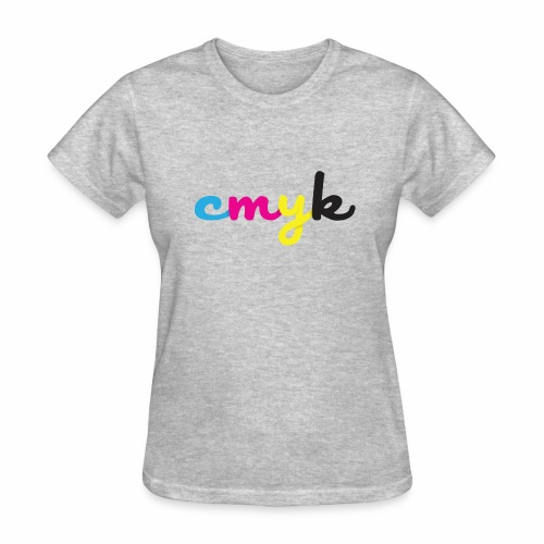 CMYK for Graphic Design Lovers - Women's T-Shirt