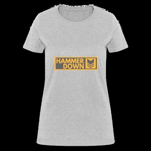 Hammer Down Logo (Large) - Women's T-Shirt