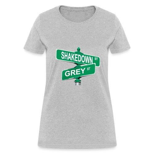 Shakedown and Grey - Women's T-Shirt
