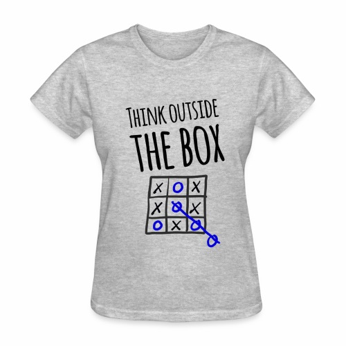 Think Outside the Box - Women's T-Shirt