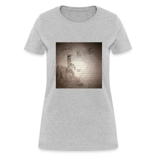 9oh7 - Alone - Women's T-Shirt