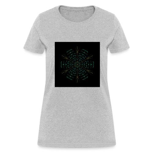 Electric mandala - Women's T-Shirt