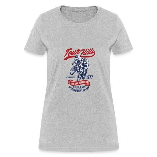 Tour de Hills - Women's T-Shirt