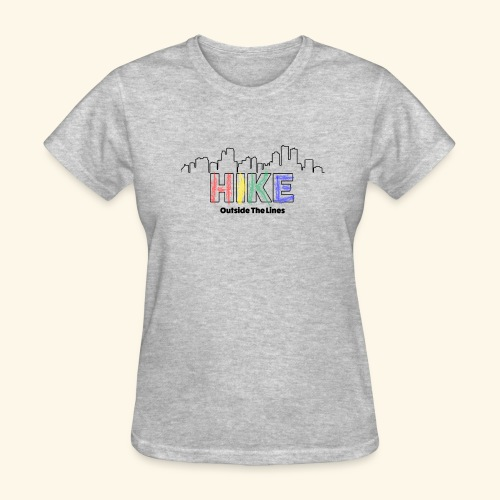 Hike Outside The Lines - Women's T-Shirt