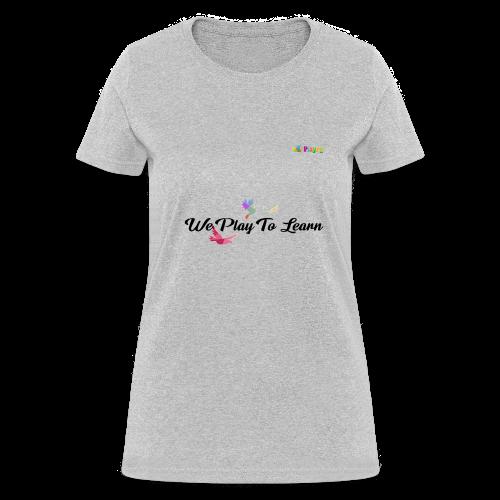 playRN | logo tshirt Alphabet ABCs Learning Tee - Women's T-Shirt