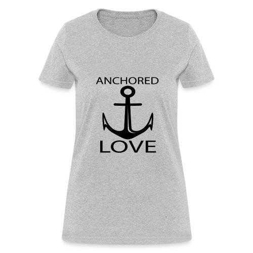 TSHIRTFINDERS -T-SHIRT ANCHOR LOVE - Women's T-Shirt