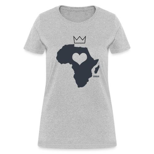 Herat Of Africa - Women's T-Shirt