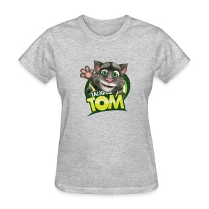 Talking_TOM_wave_preview_lowRes - Women's T-Shirt