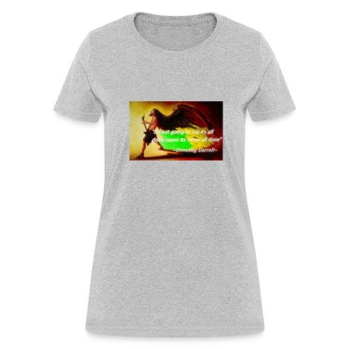 Dimebag Darryll Shredding - Women's T-Shirt