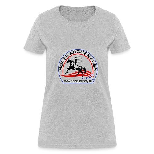 HAUSA GLOW LOGO - Women's T-Shirt