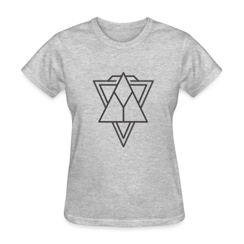 Minimalist triangle - Women's T-Shirt