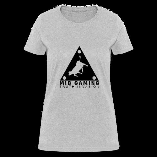MIB LOGO: TRUTH INVASION TRIANGLE UFO - Women's T-Shirt