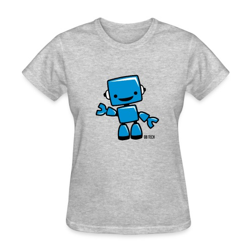 DB Tech Robot With Text - Women's T-Shirt