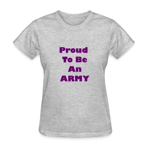 BTS - Proud To Be An ARMY - Women's T-Shirt