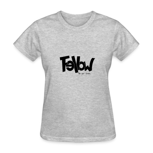 Design 01 Sur du blanc - Women's T-Shirt