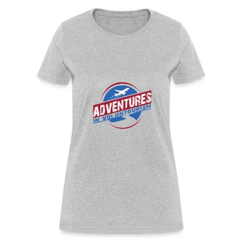 Adventures In Voluntourism - Women's T-Shirt