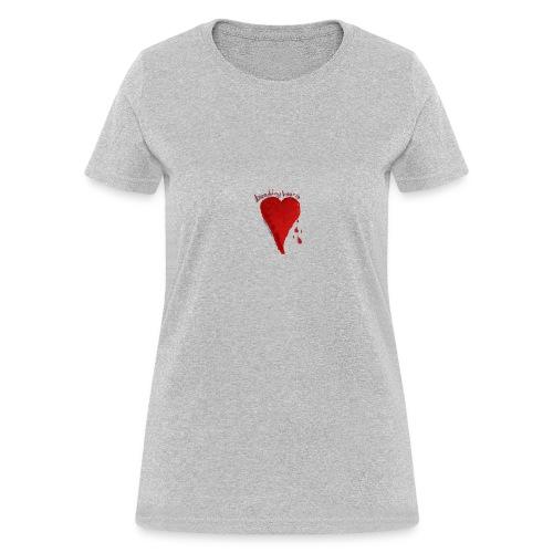 bleedinghearts - Women's T-Shirt