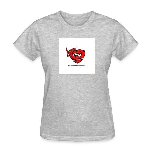 GLO Heart - Women's T-Shirt