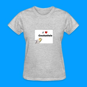 Cockatiels - Women's T-Shirt