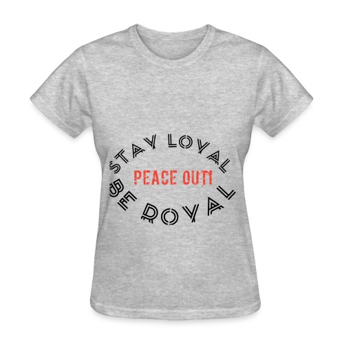 Peace out haters - Women's T-Shirt