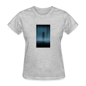 Creepy Forest Person - Women's T-Shirt