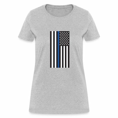 Thin Blue Line - Women's T-Shirt