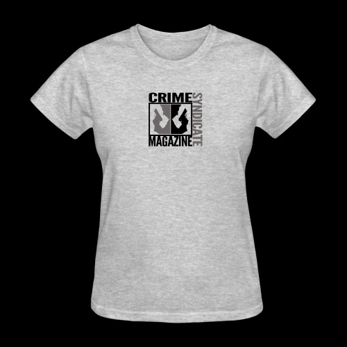 CRIME SYNDIATE MAGAZINE LOGO (No Background) - Women's T-Shirt