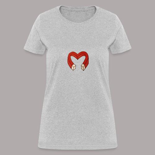 Heart-Attract - Women's T-Shirt