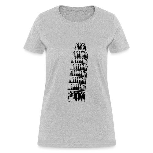 Leaning Tower of Pisa - Women's T-Shirt