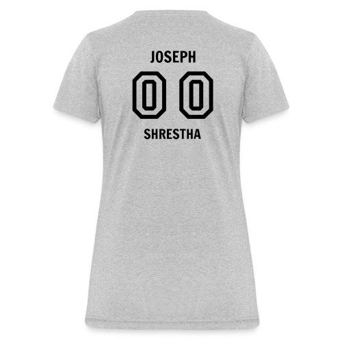 Joesph Shrestha's Jersey - Women's T-Shirt