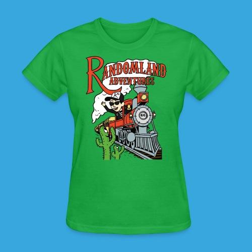 Randomland Railroad - Women's T-Shirt