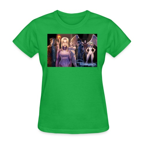Uniques Wide Standing shot jpg - Women's T-Shirt