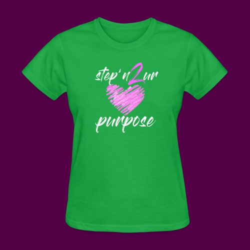 step_purpose_2017_origina - Women's T-Shirt