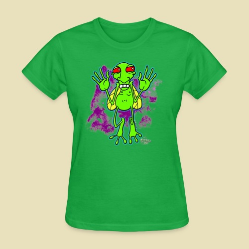 Ongher's UFO Bugg'd - Women's T-Shirt