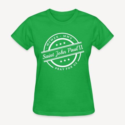 Saint John Paul II - Women's T-Shirt