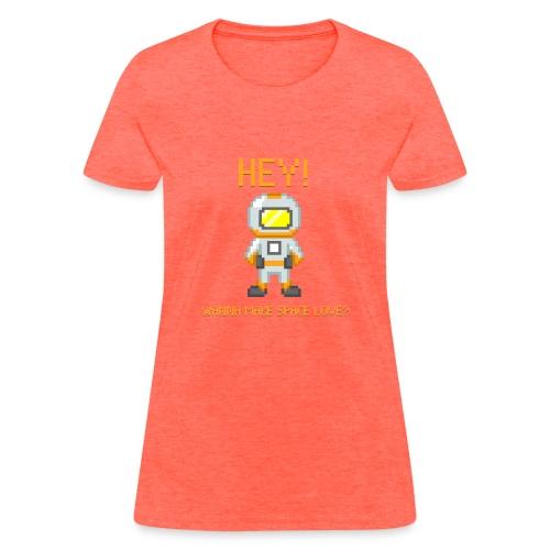 spacelove2 png - Women's T-Shirt