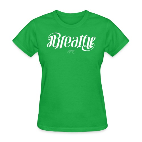 BREATHEwhite png - Women's T-Shirt