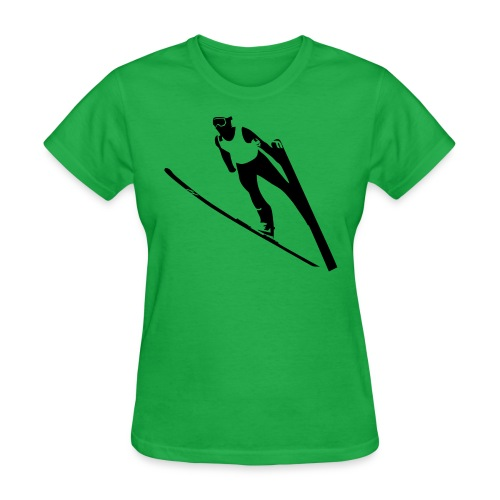 Ski Jumper - Women's T-Shirt