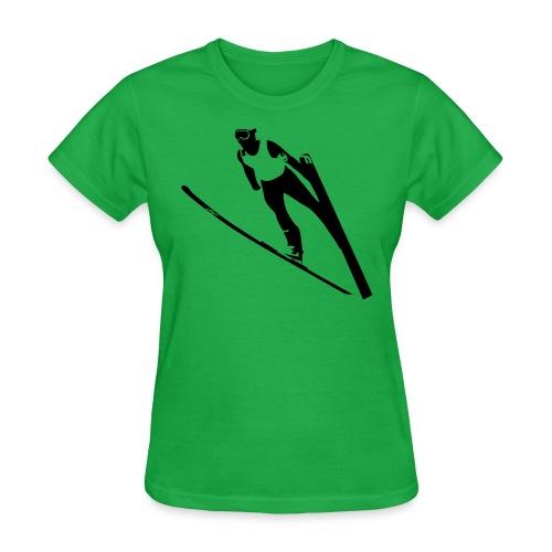 Ski Jumper - Women's T-Shirt