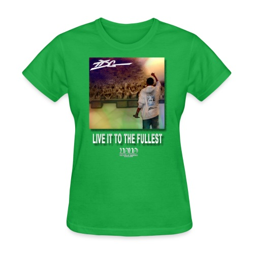 ww live it to the fullest cd tshirt - Women's T-Shirt