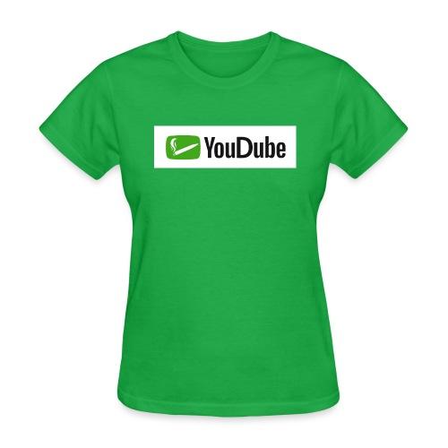 YouDube Logo - Women's T-Shirt